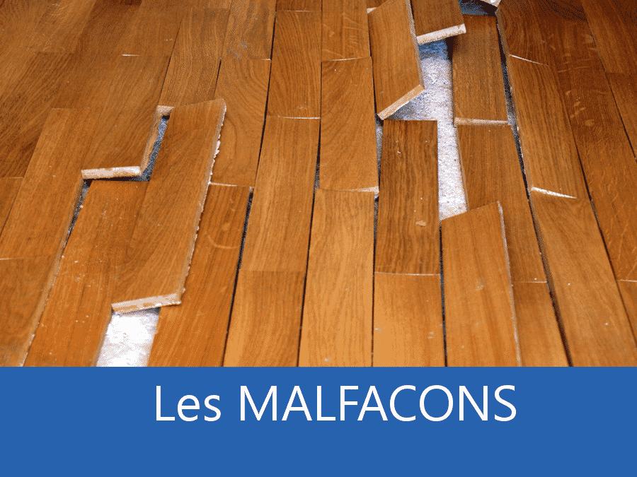 malfaçon 38, problème chantier Grenoble, problème pose chantier Isère,