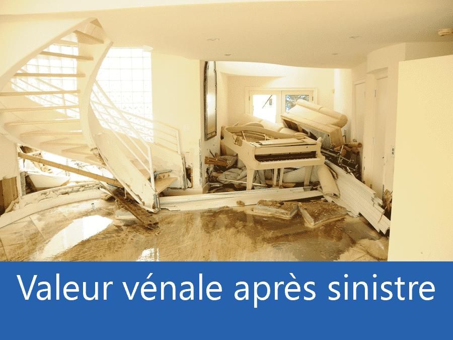 valeur vénale après sinistre 38, valeur dégâts après sinistre Grenoble, avis valeur sinistre Isère,