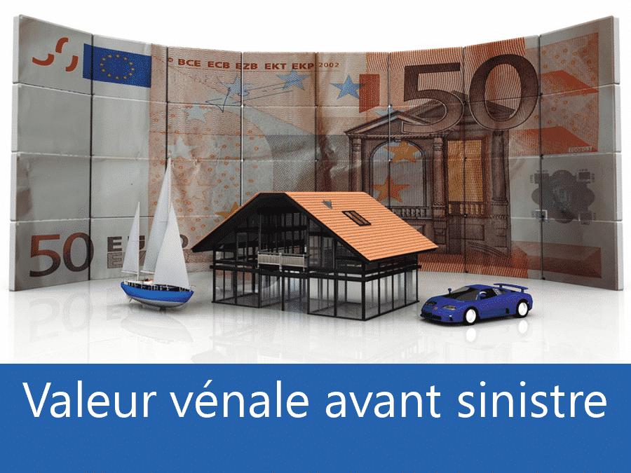 Valeur vénal avant sinistre 38, valeur des biens assurance Grenoble, expert valeur vénale Isère,